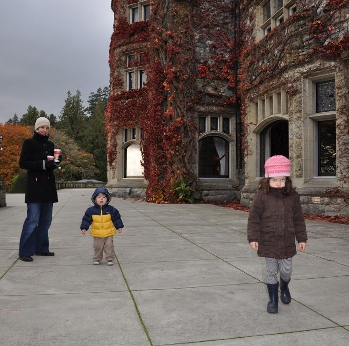 Hatley Castle – late autumn