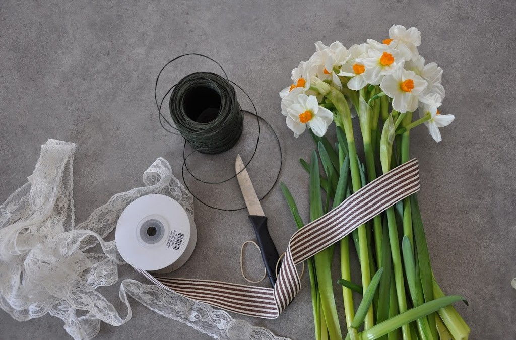 Spring flowers – DIY Daffodil Bouquet