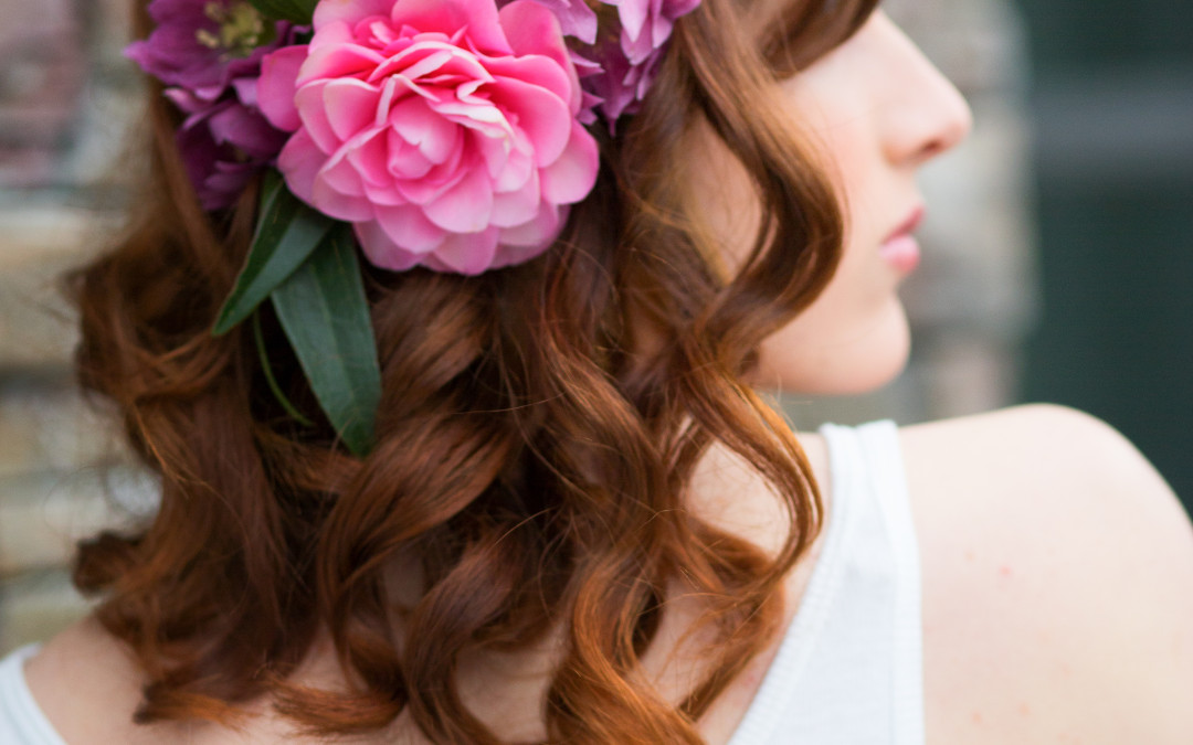 Flowers in Your Hair on Your Wedding Day