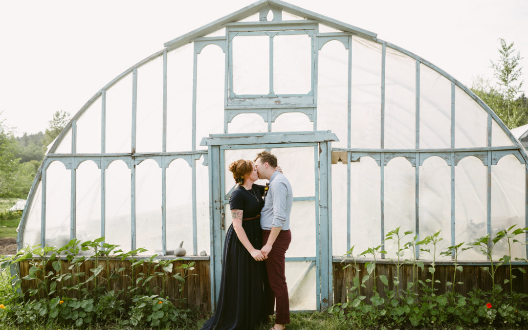 Salt Spring Island Elopement- Duck Creek Farm